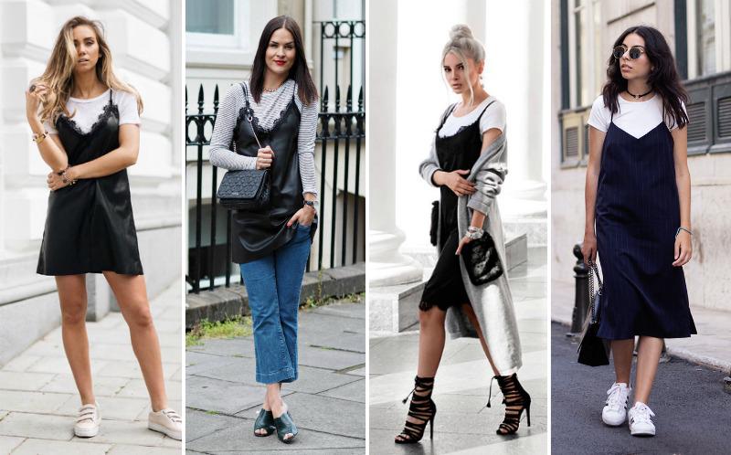 Tendência-Sobreposição-de-camiseta-com-vestido-Blog-FashionCoolture